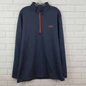 Callaway 1/2 Zip Polyester Pullover Golf Sweater
